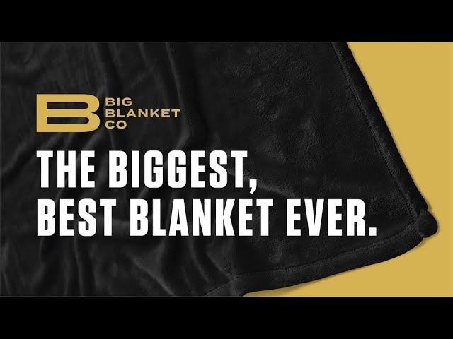 The Woven Big Blanket // Cream Gray Geometric video thumbnail