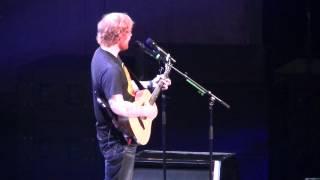 Ed Sheeran performing The a Team - Atlanta, Georgia 2015