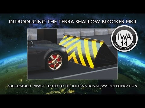 Frontier Pitts IWA14 Terra Shallow Blocker 7.2t@80kph Crash Test - Zero Penetration