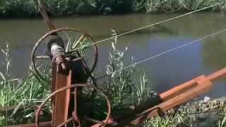 Мой пруд (начал чистить  дно от ила)