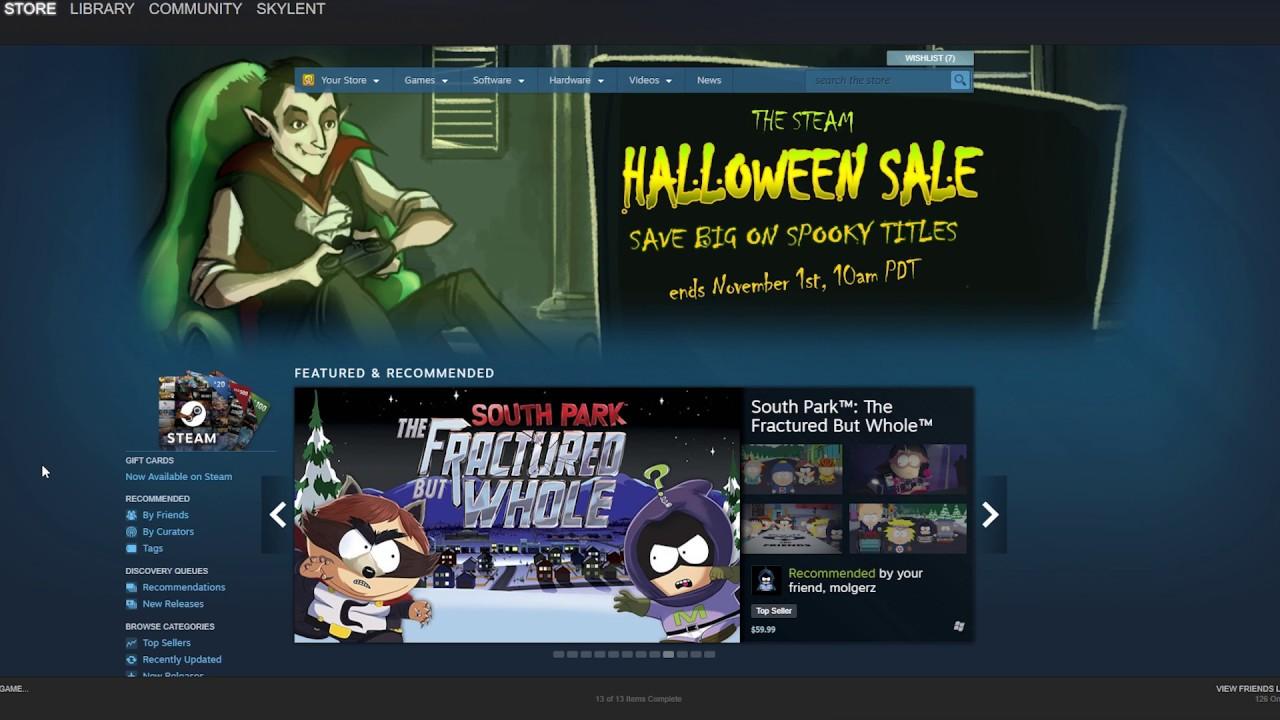 Steam Halloween Sale 2021