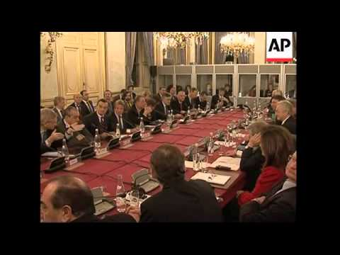 EU FMs meet for emergency meeting on Middle East, UK FM sot