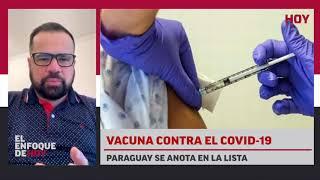 Vacuna contra el COVID-19: Paraguay se anota en la lista