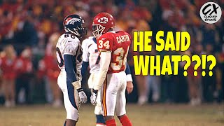 How Shannon Sharpe Got Derrick Thomas To Commit 3 PERSONAL FOULS IN 2 MINS!!! (Kansas City Meltdown)