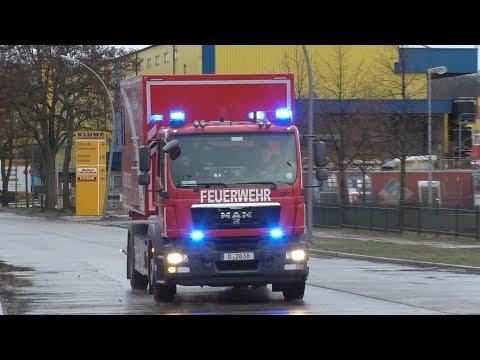 Einsatzfahrten TD 1 Berliner Feuerwehr (neuer AB A, R DLK, etc. )