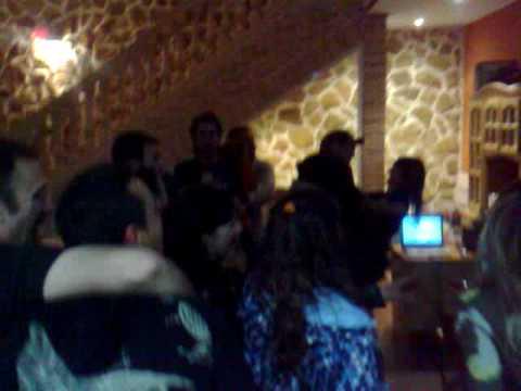 Karaoke en cena de empresa en el Restaurante Al Alba