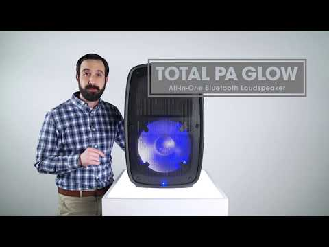Total PA Glow - All-in-One Bluetooth Loudspeaker PA System by ION Audio