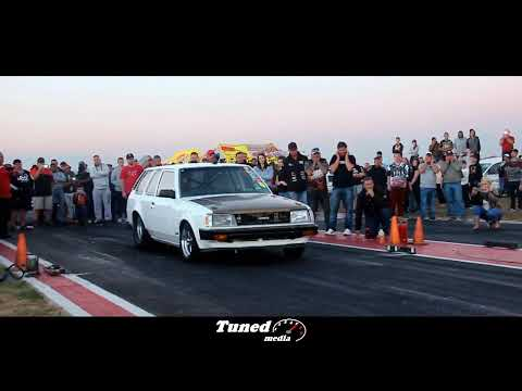2jz Powered Billet Bullet Toyota Wagon With H-pattern Gearbox At Midvaal Raceway