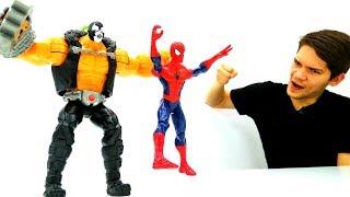 Соревнование супергероев: месть Бэйна. Победит ли Человек Паук?