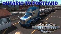American Truck Simulator - OREGON DLC - Ontario to Portland