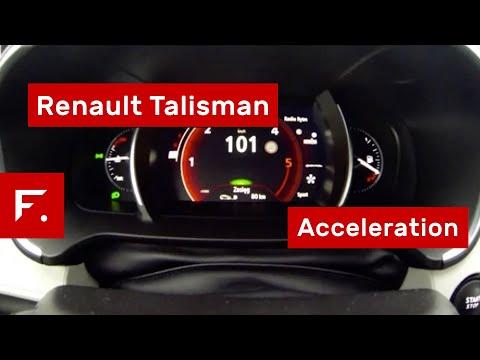 Renault Talisman Energy DCi 160 0-100 Acceleration