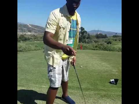 Baron Jay golf swing