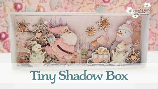 Shadow Box - Tiny Winter Scenery ~ ✂️ Maremi's Small Art