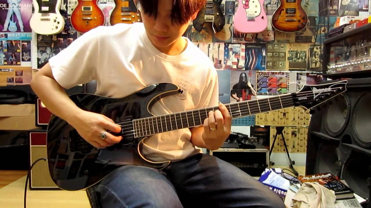 ibanez mtm2 mick thomson signature guitar clean sound youtube. Black Bedroom Furniture Sets. Home Design Ideas