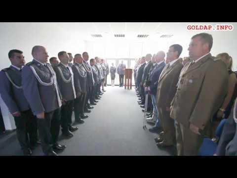 GOŁDAP. Hymn na Święcie Policji