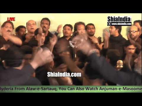 8th Rabi Ul Awwal Vidai Majlis of Anjuman-e-Hyderia1437-2015-16