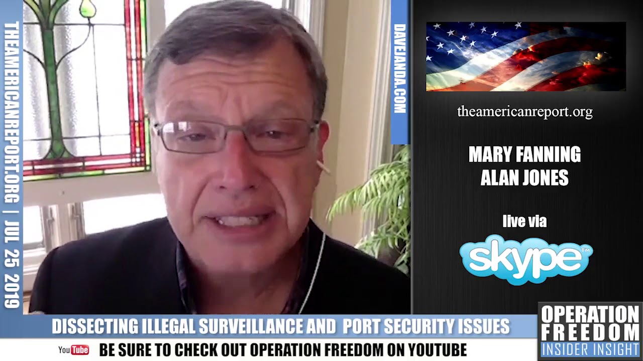 Operation Freedom Mary Fanning & Alan Jones On The US Port Security Crisis - Part 1