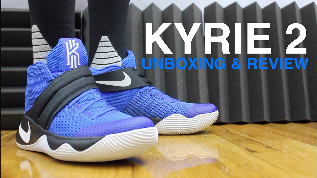 961b2c23e8f5 KYRIE 2 BROTHERHOOD UNBOXING AND REVIEW - YouTube