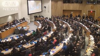 北の人権侵害など非難で決議採択 国連総会の委員会(16/11/16)