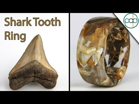 Making a Shark Tooth Ring with Casting Resin