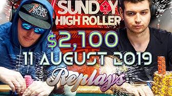 Sunday High Roller with Christian Rudolph | Michael Addamo Pokerstars 2019