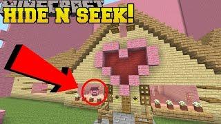 Minecraft: NOTCH HIDE AND SEEK!! - Morph Hide And Seek - Modded Mini-Game