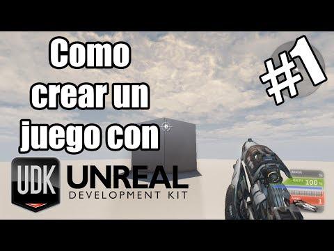 Como crear un juego en primera persona | Lo basico | UDK #1