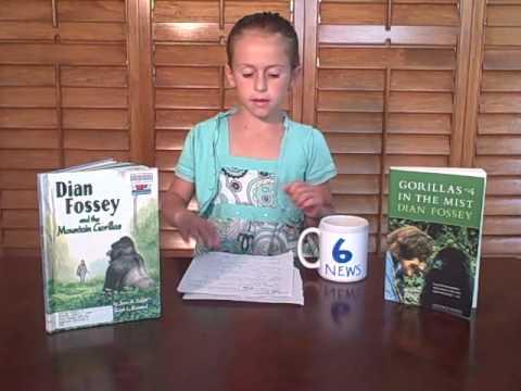 Juliette's School Project - Dian Fossey Report