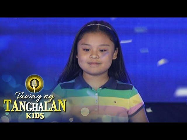 Tawag ng Tanghalan Kids: Geness Nery wins!
