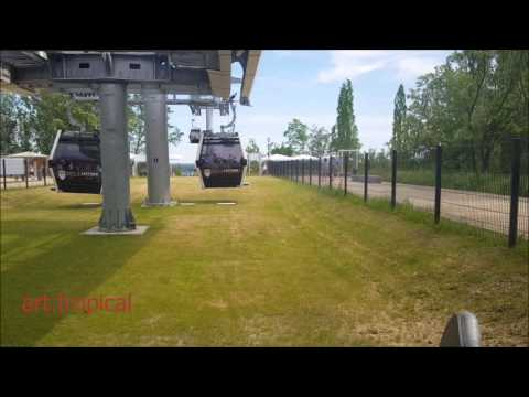 IGA Berlin / Cable Car / Eastbound (Time Lapse 4x), 2017.05.28