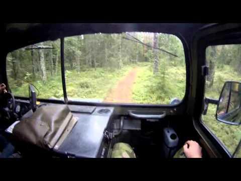 Hägglunds Bandvagn 206 (BV206) - Off-road to