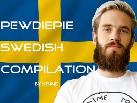 PewDiePie Swedish Compilation #1 [English Subs&Trans]