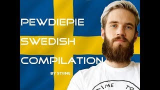 PewDiePie Swedish Compilation #1 [English Subs&Trans]