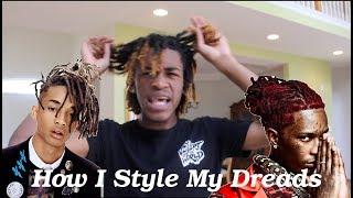 HOW I STYLE MY DREADS (THOT STYLE)
