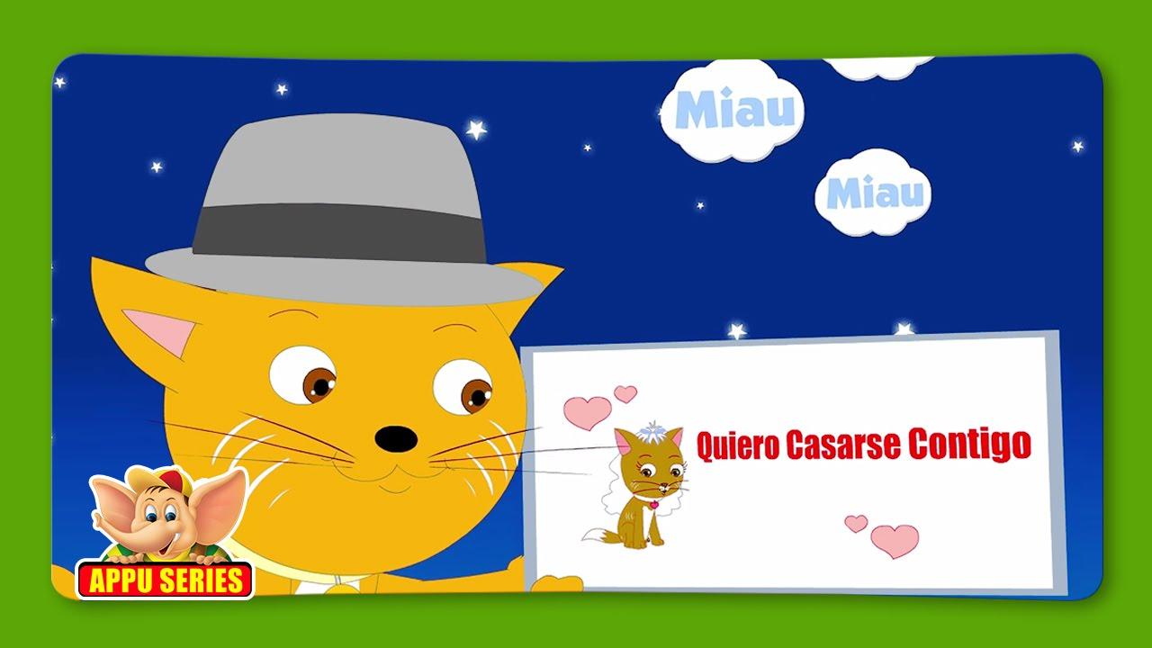 El Señor Don Gato Spanish Nursery Rhyme Youtube