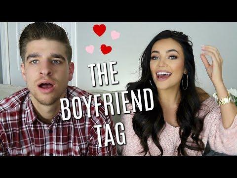 THE BOYFRIEND TAG: DOES HE REALLY KNOW ME?! | Stephanie Ledda