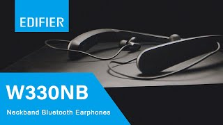 Edifier W330NB Wireless Bluetooth Earphones with Active Noise Cancellation - YouTube