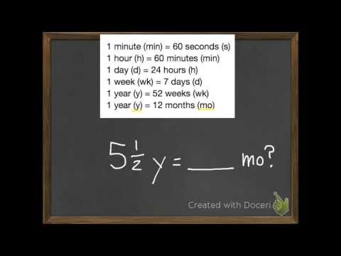 Convert Units Of Time 11-7