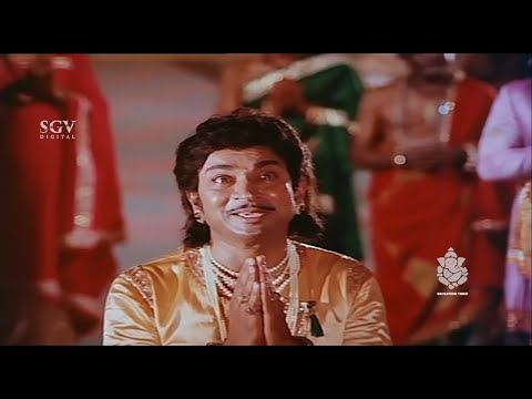 Dr Rajkumar versatile acting - Kannada Super Scenes   Kavirathna Kalidaasa Kannada Movie