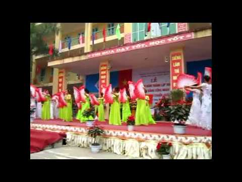 12D2-TQK.TK - Truong THPT Tran Quang Khai - Mua Quat 11D1