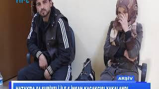 Hatay'da 54 Suriyeli ile 6 insan kaçakçısı yakalandı