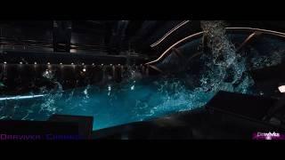 Потеря Гравитации на Корабле ... отрывок из фильма (Пассажиры/Passengers)2016