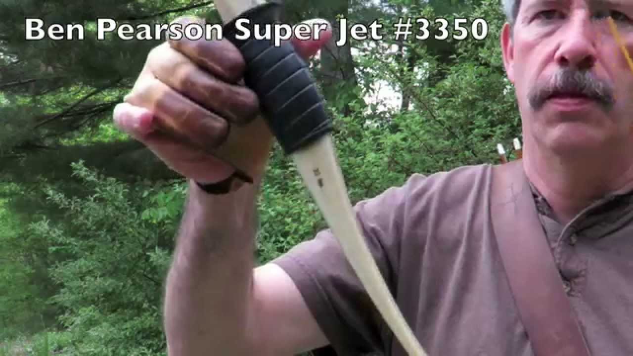 Ben Pearson Super Jet My Latest Old Bow Youtube