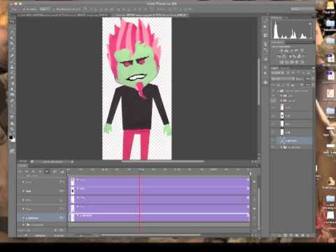 Animation in photoshop cs6 tutorial youtube negle Image collections