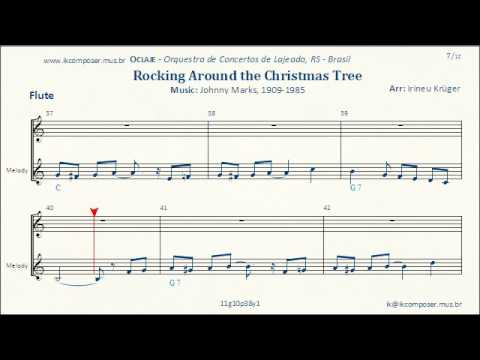 Rockin\' Around The Christmas Tree - ( Flute ) - YouTube