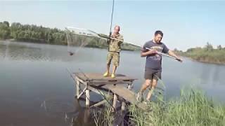 Ловля Больших Карпов и Толстолобов!!! Рыбалка на снасть Убийца Тостолоба,Бойлы и Кормаки (донка)