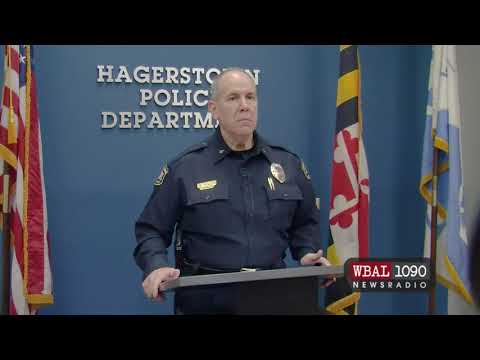Hagerstown police Chief Victor Brito announces charges against officer