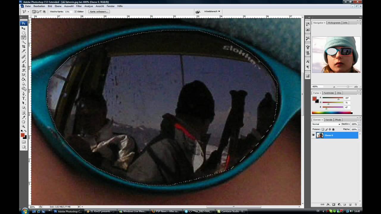 spiegeln photoshop