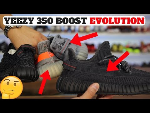 3 CHANGES ON ADIDAS YEEZY BOOST 350 V2: EVOLUTION & COMPARISON