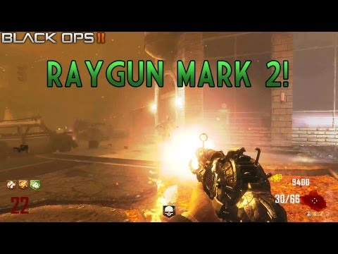 """Ray Gun Mark 2 Footage Leaked"" PACK A PUNCHED! RayGun Mark 2 Gameplay (CoD Black Ops 2 Zombies)"
